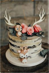 My Woodland Themed Baby Shower in celebration of o…