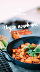Vegan abnehmen: So geht's richtig