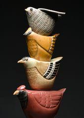 Detail des Lernens zu fliegen   – Sculpture