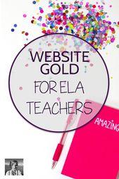 Web site GOLD for ELA Academics