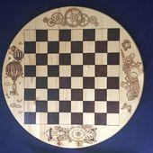Dies ist ein Schachbrett, das ich für meine Schwägerin und ihre Familie für Christus gemacht habe …
