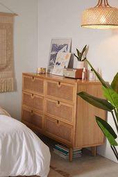Marte 6-Drawer Dresser | Scandinavian Interior Design | #scandinavian #interior