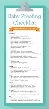 Checkliste für das Prüfen von Babys – 40 Möglichkeiten, Ihren Platz sicher zu machen   – Baby FEB