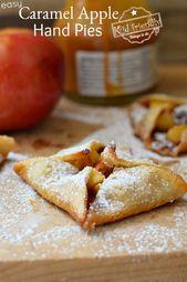 Gefüllt mit Apfelscheiben, Karamell und Zimtzucker …   – *Amazing Recipes To Try