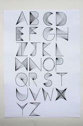 Briefe. #3dtypography Briefe.