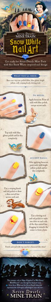 Get ready for Seven Dwarfs Mine Train at Magic Kingdom with this Snow White-insp…