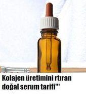 Kolajen üretimini arttıran serum tarifi ile karşınızdayım bu tarifi cildin…
