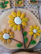 Talent und Fantasie – 25 kreative Bastelideen, um Kieselsteine in dekorative Objekte zu ver…