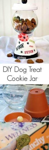 DIY Dog Treat Cookie Jar und gesunde natürliche Hundefestlichkeiten von Wellness