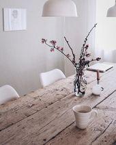 DIY Esstisch selber bauen – Tisch aus alten Baudielen – DIY ° Deko & Selber machen