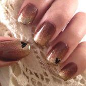 Nägel: Ombre Nails Trend und Techniken: Ombre Nägel für den Herbst. Lieben Sie dieses. M …   – espanpin