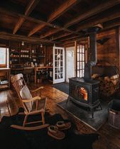 "Cozy Log Cabin on Instagram: """"Home is a place…"