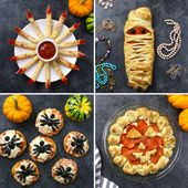 4 Amazing Halloween Pizza recipes: From Spider Pizzas and Witches Fingers to Mum…