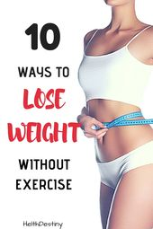 Lose 10kg in 1 month without exercise