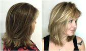 hairstyles for half-length hair half-length hairstyles fa 1 4 r women from 50 levels da …
