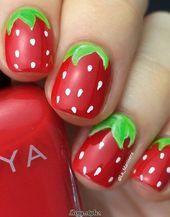10+ Köstliche Früchte Sommer Nail Art Designs – #Art #Designs #Delicious #Nail #Fruit #S …   – Nagel Kunst