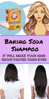 Backpulver, um Haare wachsen zu lassen. Warum Sie jedes Wort dieses Berichts lesen müssen