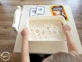 Moon activities for kindergartners- how do craters form on the moon