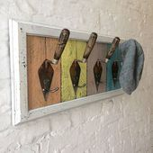 Industrial Chic Style Coat and Hat Rack from Trowe…