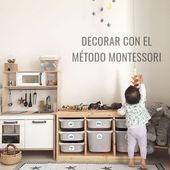 DÉCORER UN KINDERZIMMER À L'AIDE DE LA MÉTHODE MONTESSORI   – Kinderzimmer montessori
