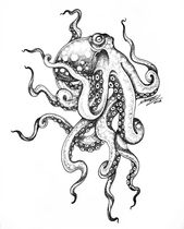 Id like to be under the sea in an octopus garden in the shade. Art by Patricio N…,  #art #G…