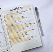 Bullet Journal For School