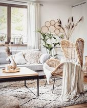 Boho & Scandi – The natural elements of the boho style meet modern Scandinavian-inspired decorations. The colors are neutral, while the …