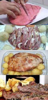 Cozinha no forno com batatas no forno #recipes #gordices #taste # delícias #f …   – Gastronomia