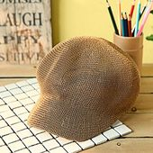 Women's Casual Newsboy Caps Outdoor Simple Baker Hats Refreshing Flat Top Cap Breathable Sun Hat Size One Size Color Brown – Products