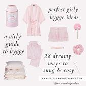 Girly Hygge Ideen, wie man sich wie ein Engel fühlt Selbstpflegetipps   – How to feel like an angel ♡