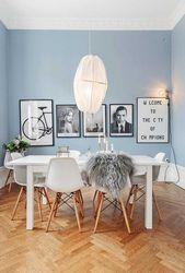 Blaue Töne: Ideen zum Dekorieren mit verschiedenen Farbnuancen – Neu dekoration stile