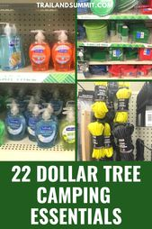 22 Dollar Tree Camping  Supplies