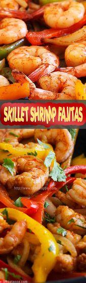 SKILLET SHRIMP FAJITAS 3 Cook the fajitas: To cook the fajitas on the stovetop h…