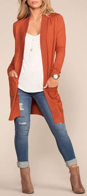 Coquette Long Cardigan Sweater