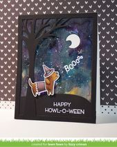 Video {10.4.16} A Happy Howloween Card by Lizzy