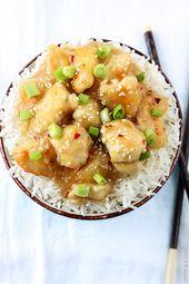 Chinese Honey Garlic Chicken | Creme De La Crumb