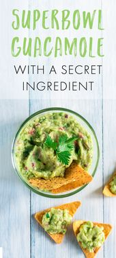 Game-Day Guacamole With a Secret Ingredient | LIVESTRONG.COM