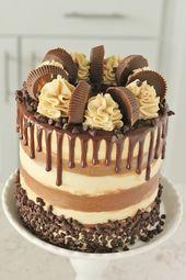Baking with Blondies Chocolate cake & Ganache recipe  – Rezepte