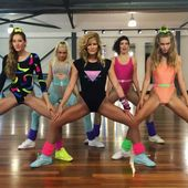 "R E T R O S W E A T ™ auf Instagram: ""⚡️⚡️⚡️⚡️⚡️. . . . . #retrosweat #aerobics # 80saerobics # 1980s # 80s # 80sstyle # 80svintage #retroworkout # 80sworkout #sweat # 80ssweat … ""   – Spandex"