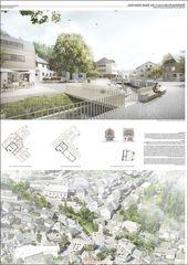 3. Preis: Vision: Downtown Wallenfels – Landschaftsarchitektur Layouts – # ……..