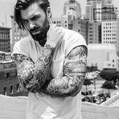 50 mittlere Bart-Styles für Männer – maskuline Gesichtsbehaarung Ideen #gesic …  – Bart
