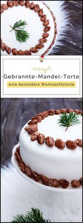 Gebrannte-Mandel-Torte mit Vanillecreme und Fondant | Filizity.com | Food-Blog aus dem Rheinland