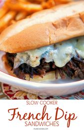 Slow Cooker French Dip Sandwiches | Plain Chicken®