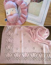 Baby Carrier Tulpen & Rosebuds Babydecke - Kostenloses Muster #Baby #Blanket #Free #Pattern #...