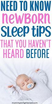 Comment faire dormir votre nouveau-né pendant la nuit   – baby fever