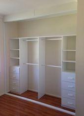 44 Ideen Schlafzimmer Kleiderschrank Design Layout Lagerung