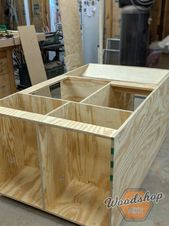 DIY Outfeed Workbench With Torsion Box