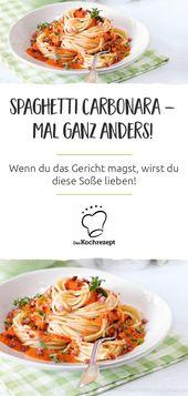 Spaghetti mit Paprika Carbonara