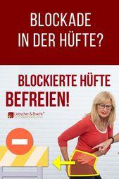 Blockade in der Hüfte? So schnell kannst du sie lösen