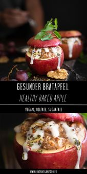 Healthy Baked Apple